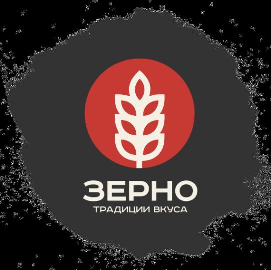 Логотип компании Зерно