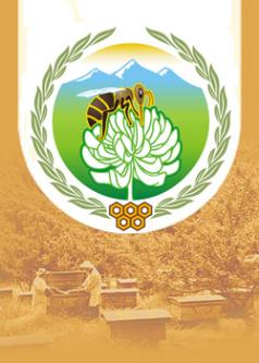 Логотип компании Краснополянская опытная станция пчеловодства