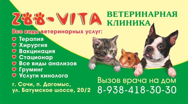 Логотип компании Зоовита/ZOO-VITA