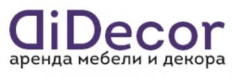 Логотип компании DiDecor аренда мебели в Сочи